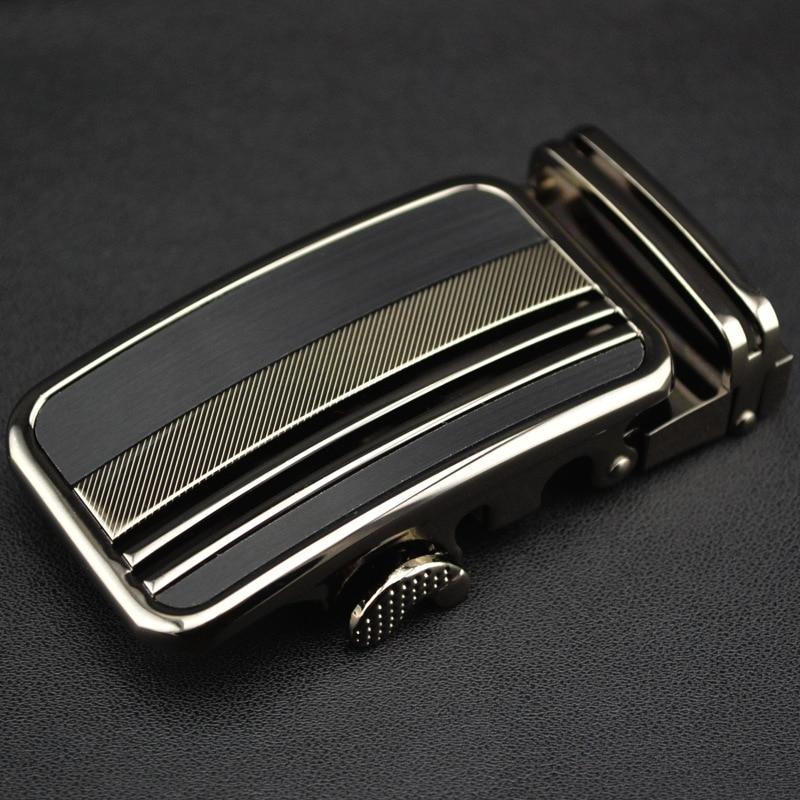 Men's Belt Head Belt Buckle Leisure Belt Head Business Accessories Automatic Buckle Width 3.5CM Belts Men High Quality LY1642-06