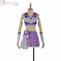 LoveLive!Sunshine!! Aqours Mari Ohara Cheerleading Skirt Suit Cosplay Costume ,Perfect Custom For you!