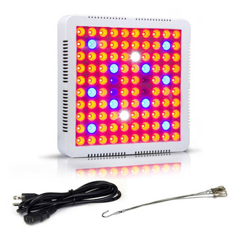 LED Grow Light Lamp 300W Full Spectrum Indoor Veg Flower Plant Panel Horticulture LKS99