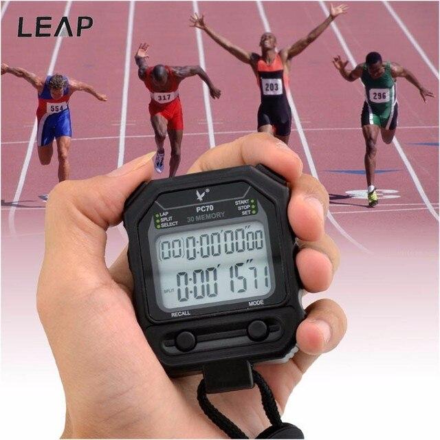 6f74dd306f8f Cronómetro deportivo para correr temporizador Digital de mano cronógrafo temporizador  deportivo temporizador programable reloj de alarma