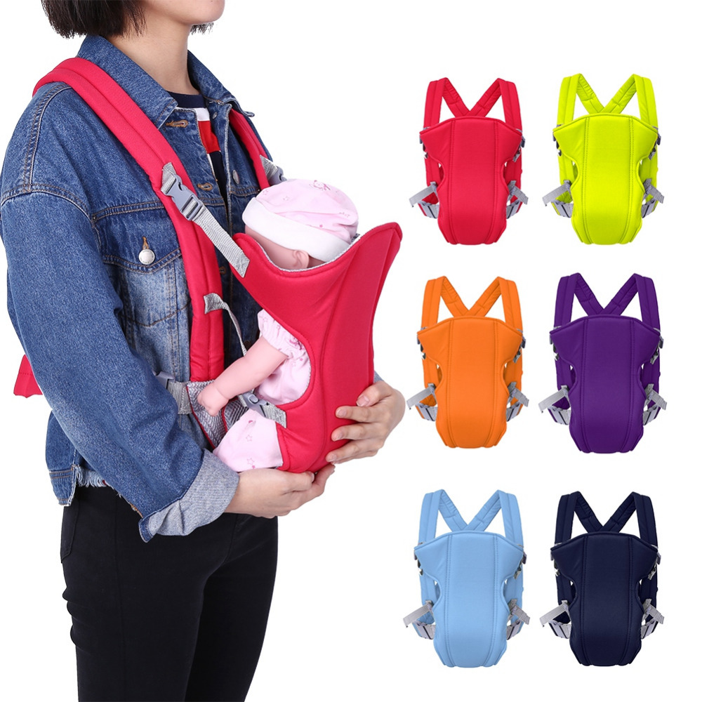 Baby-Carrier Sling Seat Carrying-Wrap Front-Backpack Double-Strap Adjustable Utiility