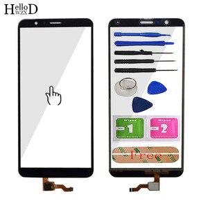 Image 2 - 5.93 נייד מגע מסך זכוכית עבור HuaWei Honor 7X מגע מסך קדמי זכוכית Digitizer פנל עדשת חיישן כלים משלוח דבק