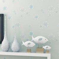 3D Flowers For Kids Room Wallpaper Girls Infantil Papel De Parede Floral Moderno