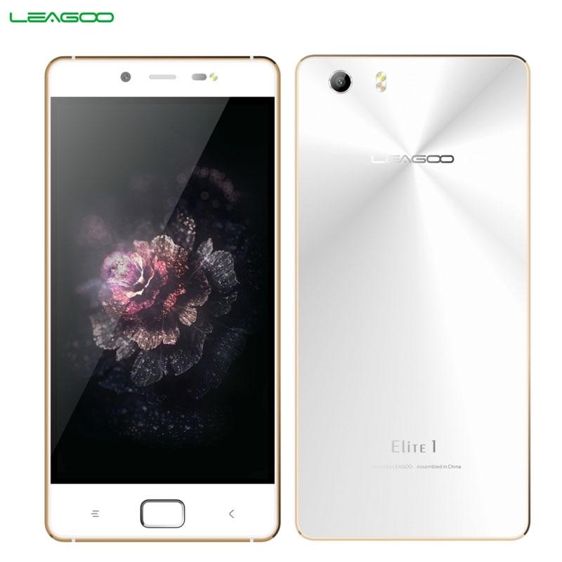 Original LEAGOO Elite 1 ROM 32GB+RAM 3GB LTE Network 4G 5.0'' Android 5.1 MTK6753 ARM Cortex-A53 Octa Core 1.3GHz Smartphone