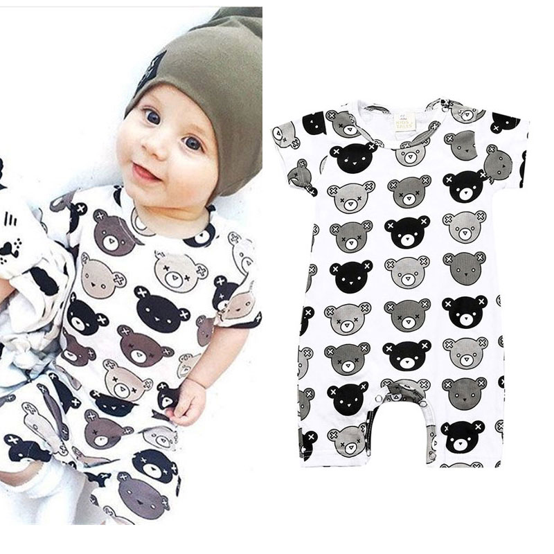 Baby Bear Romper Designer Animal Newborn Clothes Infant