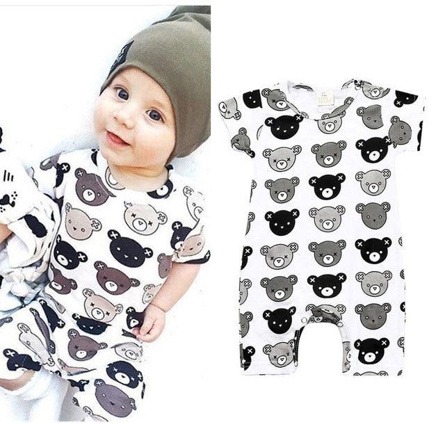 4c46ef07807ce Baby Bear Romper Designer Animal Newborn Clothes Infant Pajamas Newborn  Clothing Unisex Baby Boy Jumpsuit Baby Sleepers Overalls