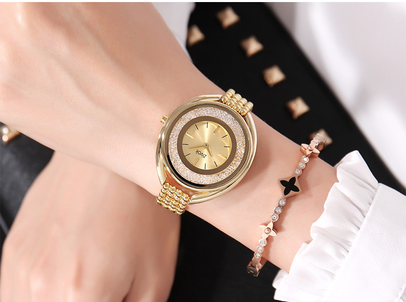 New Top Brand Contena Luxury Montre Watch Femme Fashion Ladies Women Rhinestones Full Logo Watches Quartz Mujer Crystal Relojes luxury brand women diamond quartz watch ladies female dress wristwatch rotatable dial watche s montre femme relojes mujer