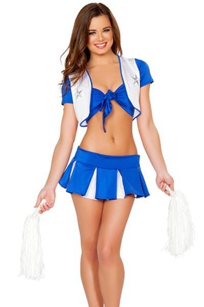 Lady Sexy Cheerleading Halloween jelmez egyenruha Nagyker ... e78eac9a5f