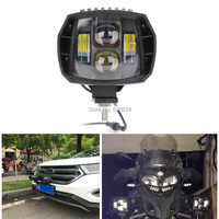 1PC 40W Black Durable Waterproof Low Beam LED Work Light for SUV, ATV, UTV, 4 x 4, Sand rails, Cars, Truck, Trailer, Forklift