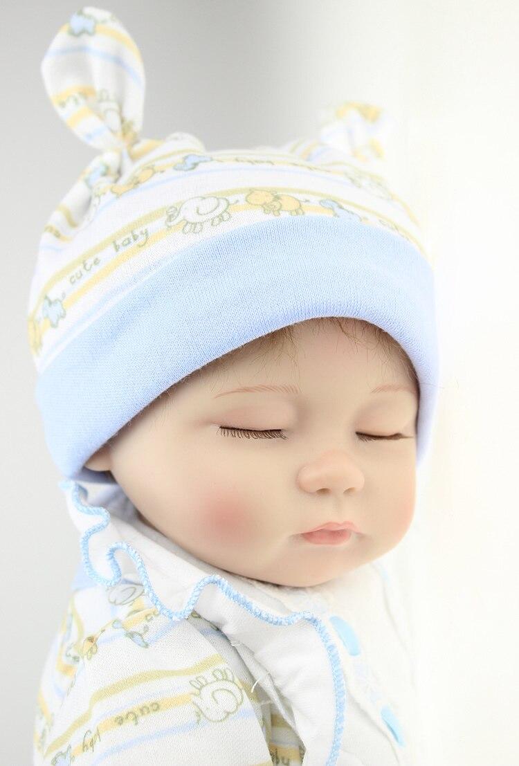Reborn doll kits vinyl bonecas bebe reborn de silicone reborn baby dolls for girls free shipping
