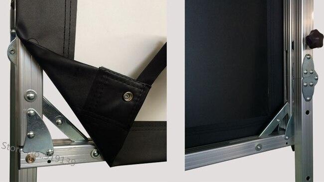 Image de qualité installation rapide écran de Projection avant Format 120 pouces 16 à 9 pour projecteur Epson BenQ-in Écrans de projection from Electronique    3