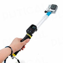 PHTICAL 14-24″ EVO Selfie Stick For GoPro Hero 5 Session 4s 4 3+ 3 SJ5000 6000 SJ7000 Xiao Yi Floating Extension Pole Monopod