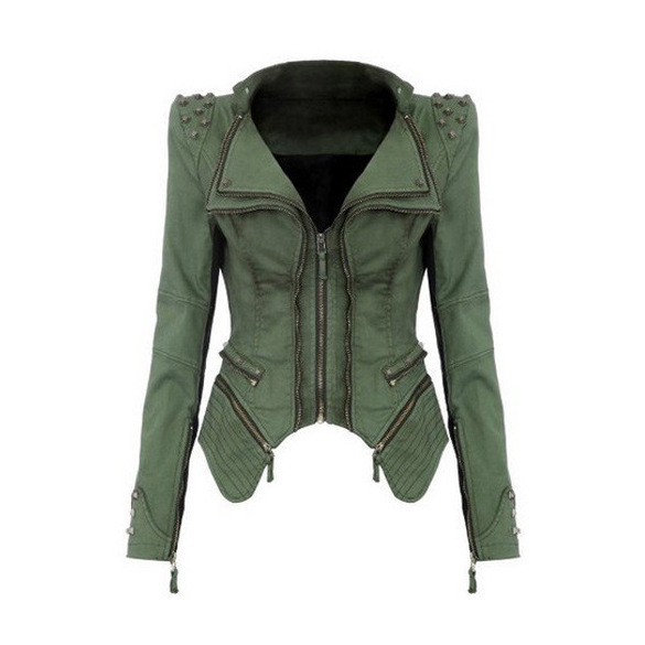 Wanita Denim Jaket gaya baru 6XL Tops Musim Gugur musim dingin mode - Pakaian Wanita - Foto 3