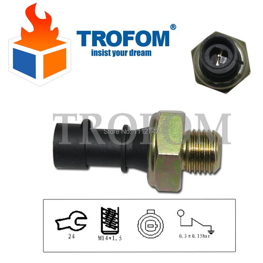 AUTOUTLET 55581588 Oil Pressure Switch Oil Pressure Sensor For Opel