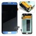 Для Samsung Galaxy S7 edge Оригинальный ЖК-дисплей с сенсорным экраном Дигитайзер G935F T FD P V испытано жк с рамкой с логотипом freeship