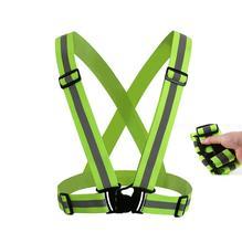 Hot 360 Degrees High Visibility Neon Safety Vest Reflective Belt Safety Vest Fit for Riding reflective vest High elasticity
