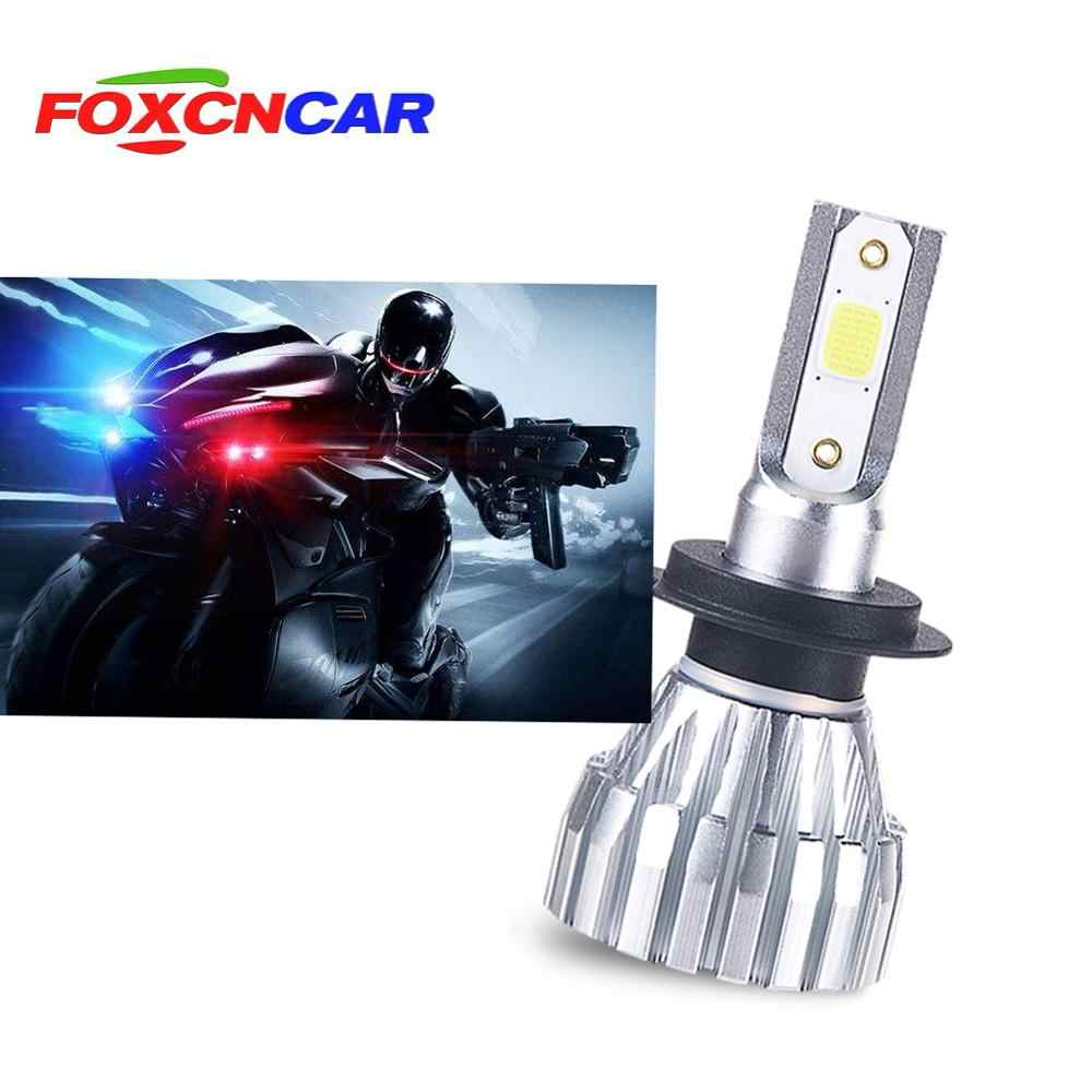 1Pcs h4 led motorcycle h7 h11 moto 6500k led lamp h1 motorcycle headlight 12v led Moto Bulbs 5000lm Motorbike Head Lamp Scooter