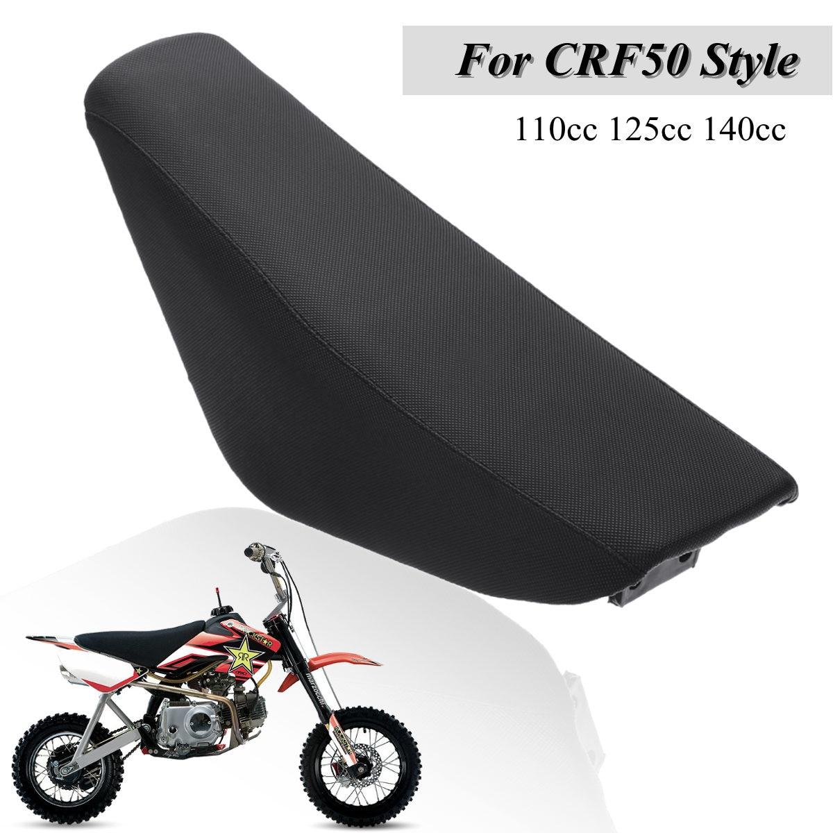 Black Flat Tall Seat For Xr50 Crf50 Xr 50 Crf Sdg Ssr Pit Bike Thumpstar