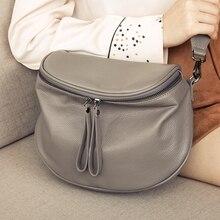 Genuine Leather Shoulder Bag Women's Luxury Handbags Designer Fashion Crossbody bags for women Messenger Bag Female Tote Purse