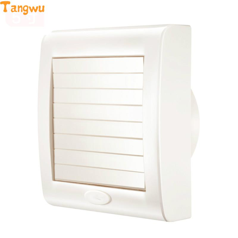 Fan Parts window clip 5 inch waterproof bathroom fan mute environmental automatic shutter Exhaust Fan цена и фото