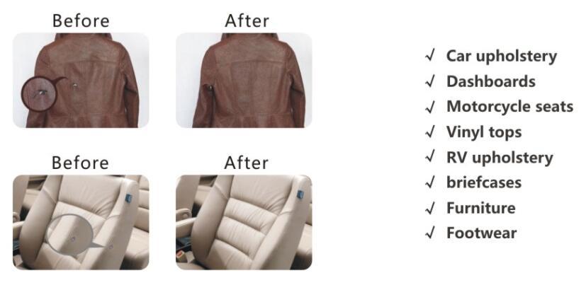 Visbella Leather Vinyl Repair Kit Auto Car Seat Sofa Coats