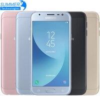 2017 Original Samsung Galaxy J3 J3300 3G 32G 5.0'' Dual SIM Mobile Phone Fingerprint NFC 13.0MP Snapdragon Quad Core Cell phone