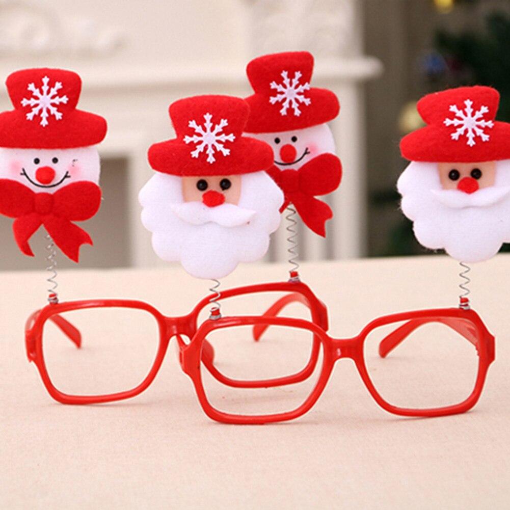 Holiday Novelty Christmas Ornaments Glasses Frames Decor Evening ...