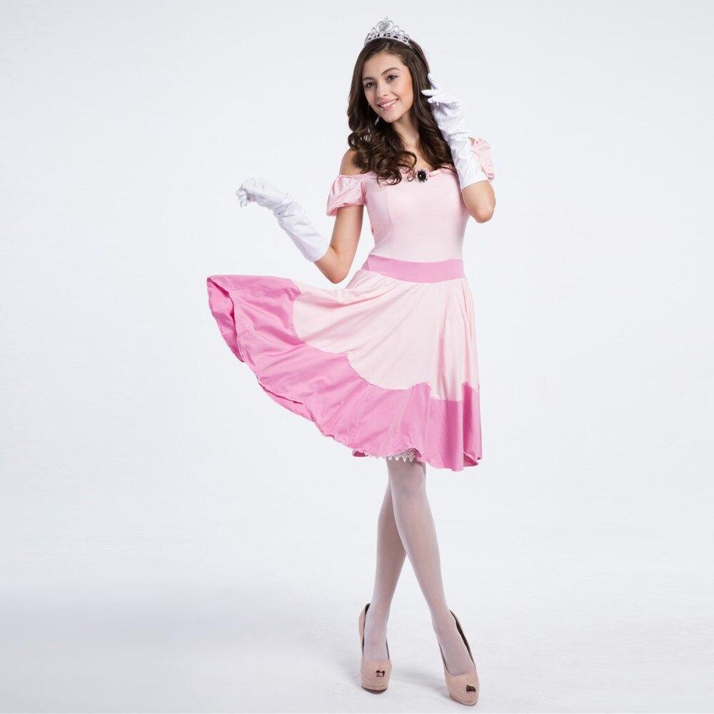 ∞Traje de Halloween para las mujeres Blancanieves Cosplay trajes ...