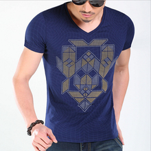 Summer male Top Tees Fashion Casual T Shirts For Men New Arrival T-shirts Men Design 100% Cotton Short Sleeve