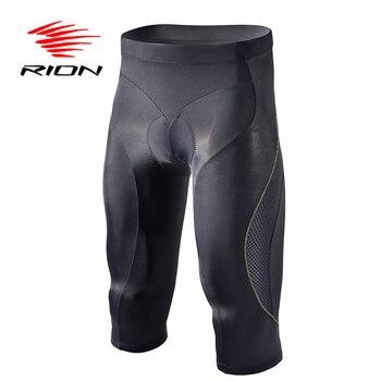 Men's Bike Shorts, 3/4  Padded  , UV Protection, MTB Downhill Men Underpants 23