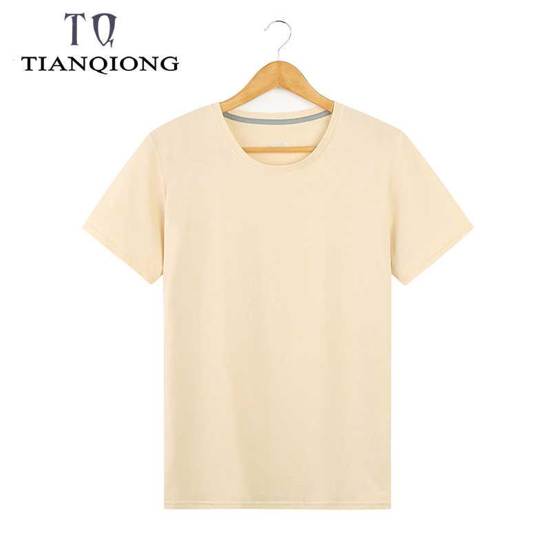 2019 2 шт./лот Высокое качество модные мужские футболки Повседневная футболка с коротким рукавом мужская однотонная Повседневная хлопковая футболка Летняя одежда