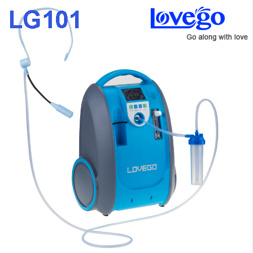 цены Mild and Medium stage disease consumers use 5 liters Lovego portable oxygen concentrator LG101