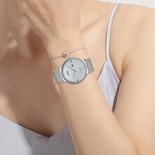 Women Dress Watches Luxury Brand Ladies Quartz Watch Stainless Steel Mesh Band Rose Gold Waterproof Ladies Watch reloj mujer