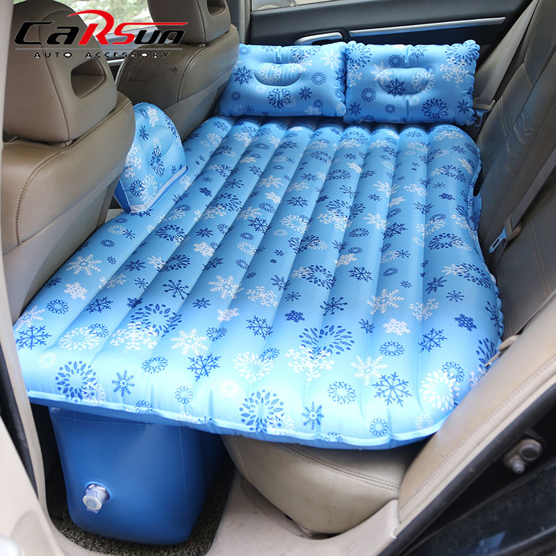 CARSUN Car Mattress Camping Oxford Travel Bed Inflatable Car Mattress Automotive Air Mattress Sleeping Pad Car