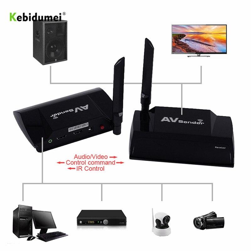 5.8 GHz 300 M PAT-580 sans fil AV émetteur et récepteur HDMI TV Audio stéréo vidéo émetteur adaptateur avec extension à distance IR
