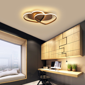 Image 4 - NEW aluminum Modern LED ceiling lights lampada led For Bedroom Childrens room Home lamparas de techo ceiling lamp AC110V 220V
