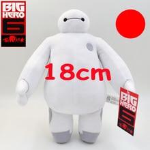 18 cm baymax robô big hero 6 filme de desenhos animados de pelúcia brinquedos action figure()