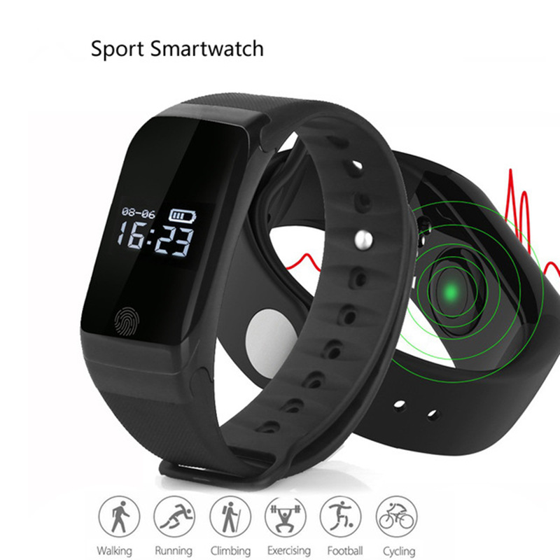 X7 Men font b Women b font Bluetooth 4 0 Sports SmartWatch Heart Rate Tracker Passometer
