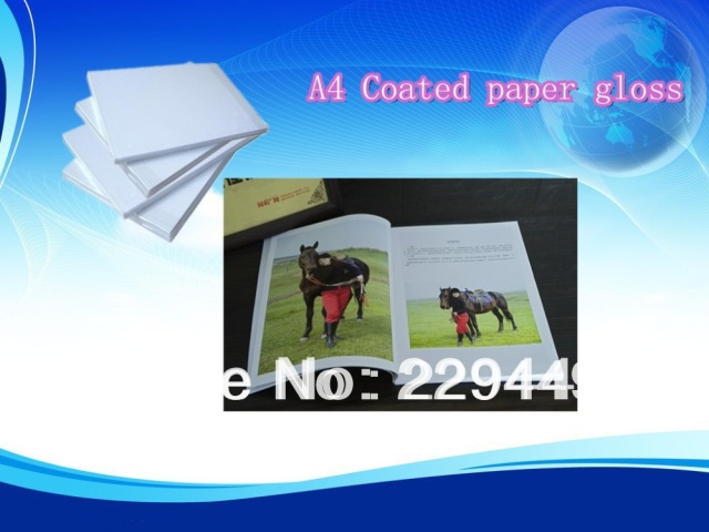 50 sheets Double faced A4 300g inkjet coated paper