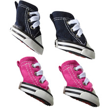 Denim Dog Shoes Nonslip Sneaker Casual Pet Shoes For Dog Teddy Yorkie Labrador Boots Large Size