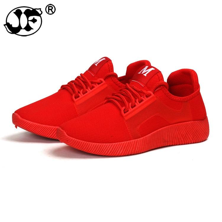 34d055489474 Chaussures Mesh Noir Rouge Plate Et Noir Femmes Compensées De D été Femme  Printemps forme Air ...