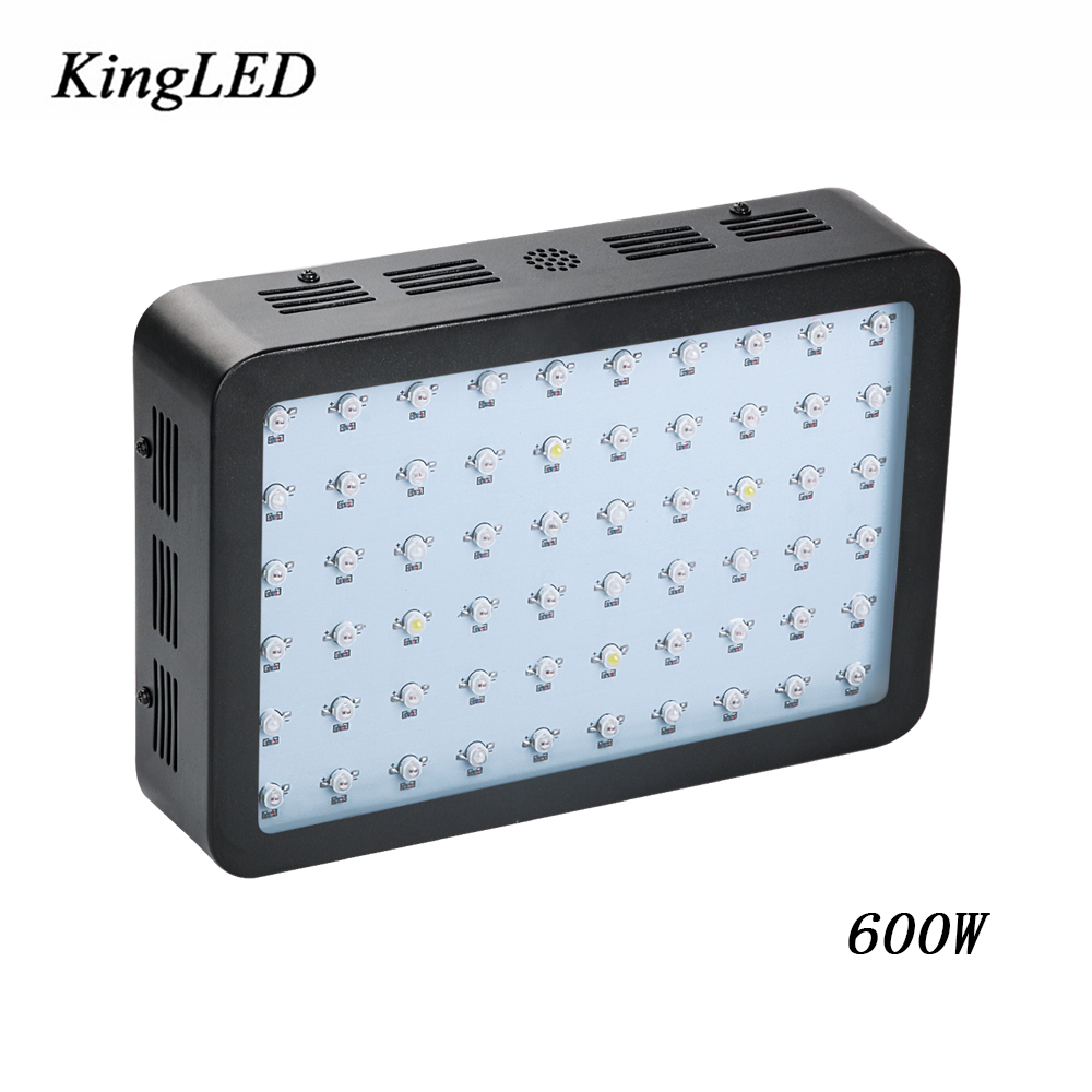 Black Color Double Chips 600W LED LED Grow Light Full Spectrum 410-730nm For Indoor Plants and Flower Phrase Very High Yield. russian phrase book