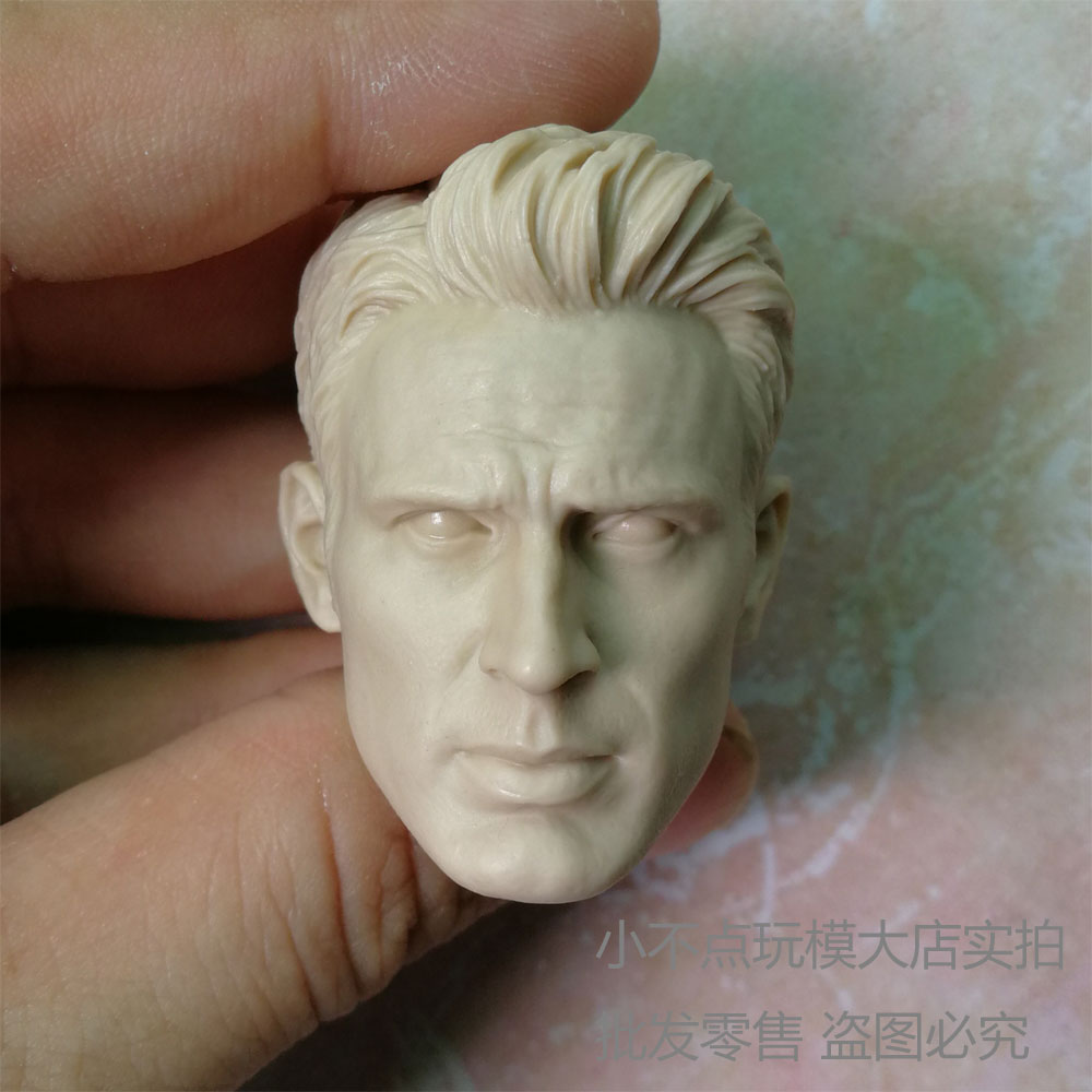 "blank 1//6 Scale Solo Harrison Ford 2.0 star wars Head Sculpt unpainted fit 12/"" A"