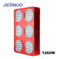 Big Grow Light 1260W Double Chips Full Spectrum LED lamp for Plant Hydroponics for Plants Grow and Flower lamp Fast ship