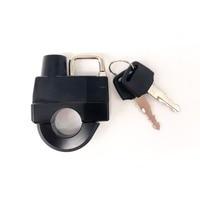 FOR HARLEY DAVIDSON XL 883 1200 Motorcycle Universal 25mm Handlebars Helmet Lock Key Padlock Accessories