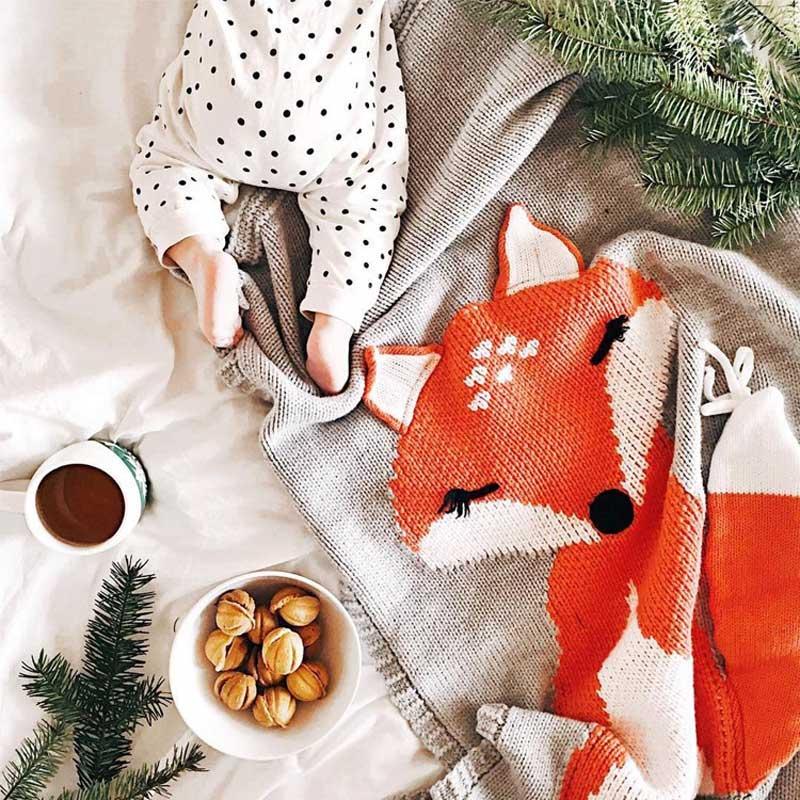 Knitting Blanket Baby (6)