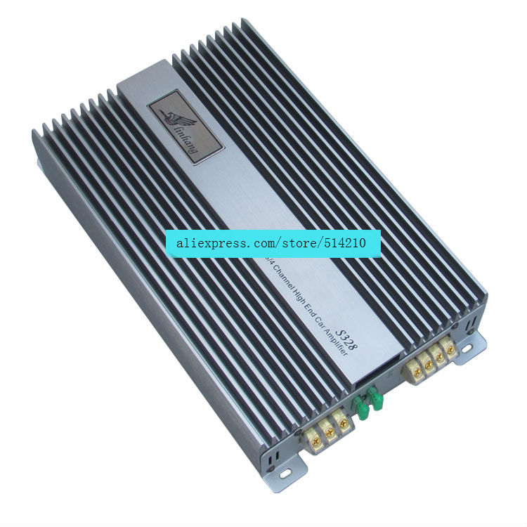 High grade 12V ST328 high power 2.0 car channel power amplifier, fever audio conversion, push bass 200Wx2
