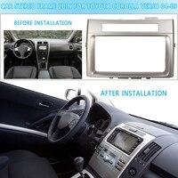 Car CD/DVD Stereo Frame Facia Trim Double DIN Car For TOYOTA Corolla Verso 2004 2005 2006 2007 2008 2009 Adapter Dash kit
