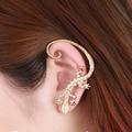 Hot 1 Pc Women Lady Girl Fashion Elegant Charming Lizard Design Ear Cuff Earrings Jewelry Gift