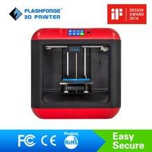 Flashforge 3d-drucker Finder Diy 3d-drucker Kit Auto Leveling Abnehmbare plattform Einzigen extruder mit/1 spool PLA filament